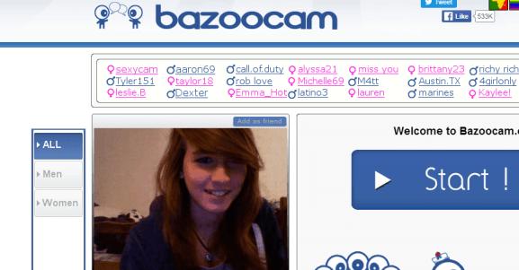 Video chat bazoo Bazoocam Chatroulette